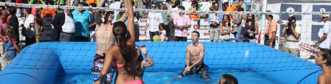 """CucaraTitis, campeones del I Open """"Watervoley Zaragoza"""""""