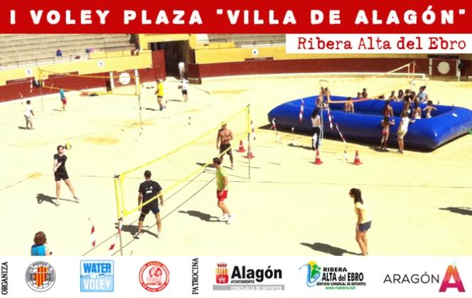 Éxito de la I edición del Voley Plaza deAlagón