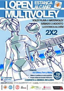 I Open MultiVoley La Estanca-Alcañíz (2/08/2014)