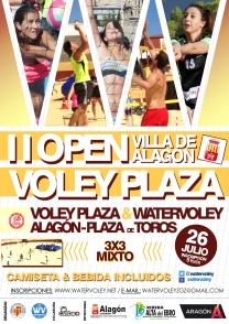 """II Open Voley Plaza """"Villa de Alagón"""" (26/07/2014)"""