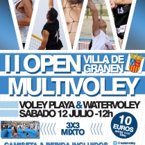 II Open MultiVoley Villa de Grañen (12/07/2014)