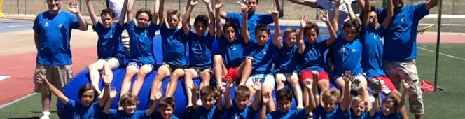 Watervoley en el Summer School de Montearagón
