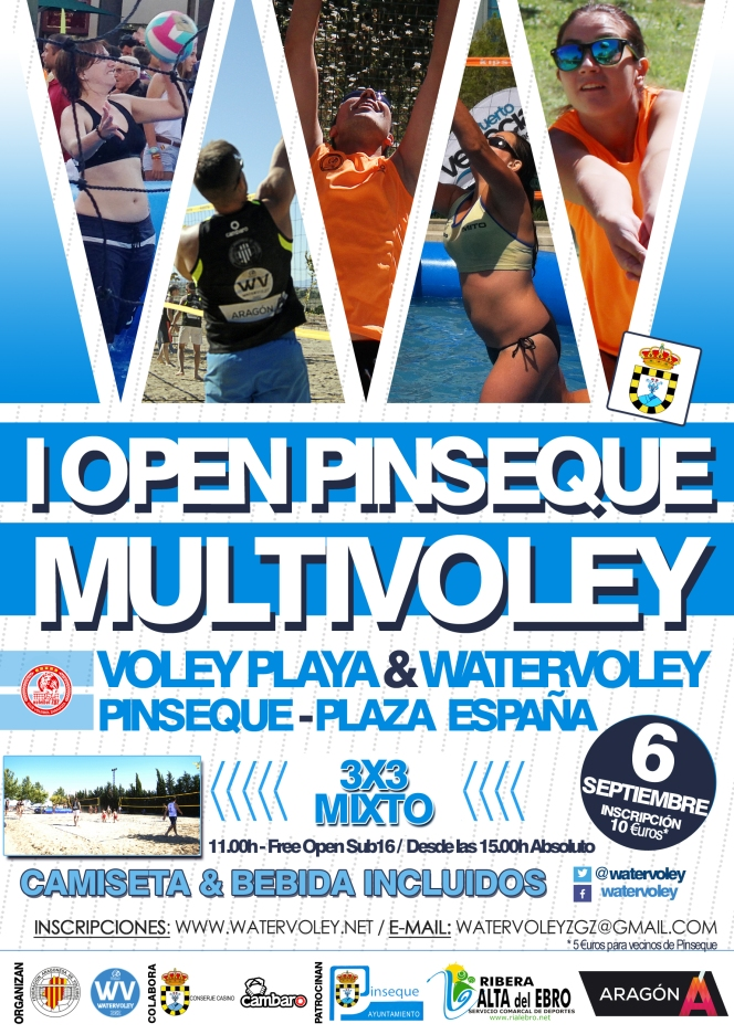 Pinseque se viste de gala para acoger el I Open Multivoley