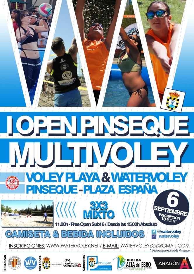 Pinseque se viste de gala para acoger el I OpenMultivoley