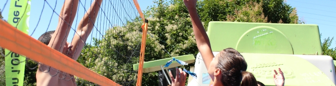 """""""Los Melones"""" y  """"Cuatrito"""",  vencedores del I Open MultivoleyPyreneSport"""