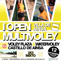 "I Open MultiVoley ""Villa de Aínsa"" (12/09/2014)"