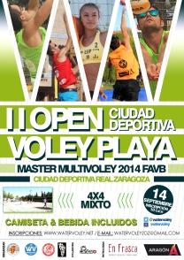 "II Open Master Voley Playa ""Ciudad Deportiva"" (14/09/2014)"