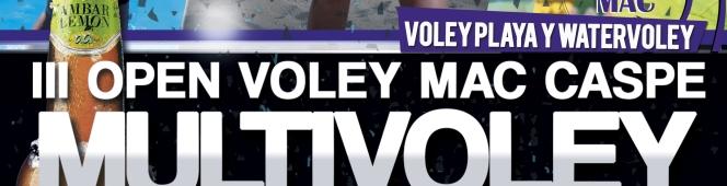 El III Voley MAC vuelve cargado denovedades