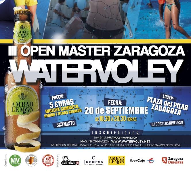 La Plaza del Pilar acogerá el III Master WatervoleyZGZ