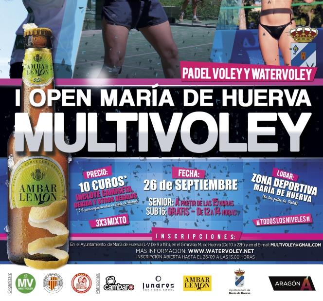 Maria de Huerva cerrará el circuito Multivoley FAVB2015