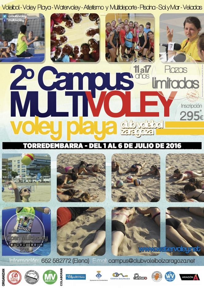 El Campus de Verano Multivoley repite enTorredembarra