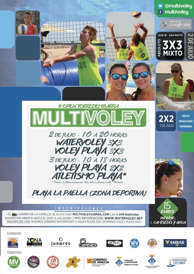 Este fin de semana, el Multivoley vuelve aTorredembarra.