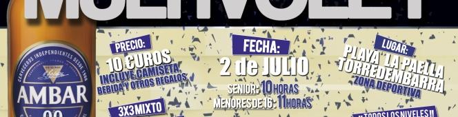 El Multivoley regresa a Torredembarra el próximo día 2 deJulio