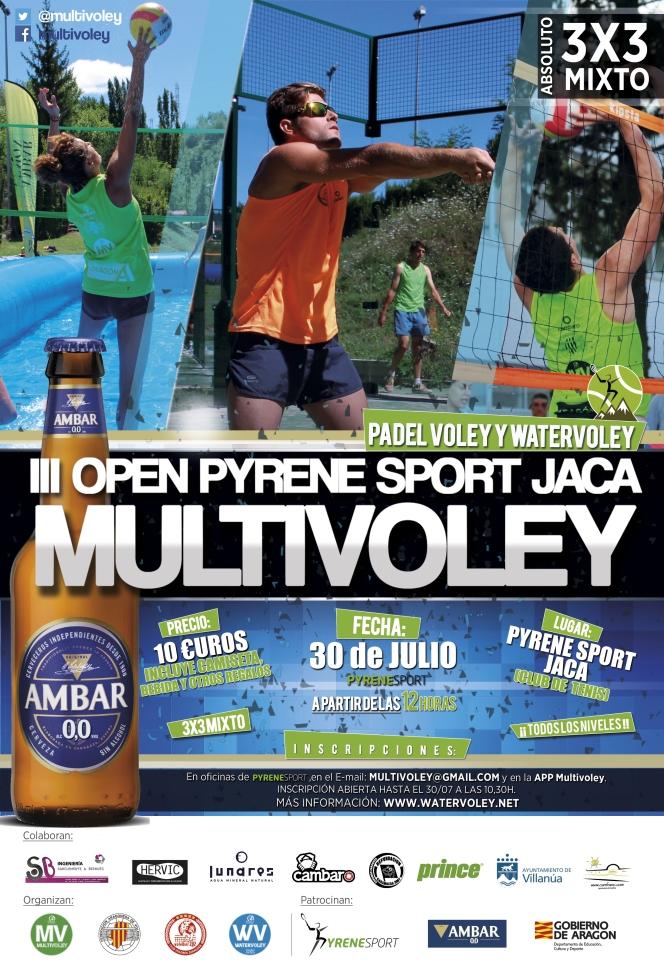 El III Open PyreneSport de Jaca se disputará estesábado.