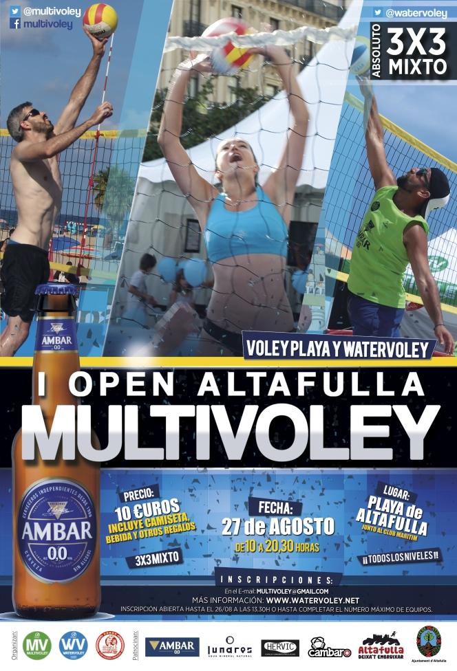 El Circuito Multivoley llega a Altafulla el día 27 deAgosto.