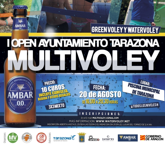 Tarazona acogerá su primer Open Multivoley