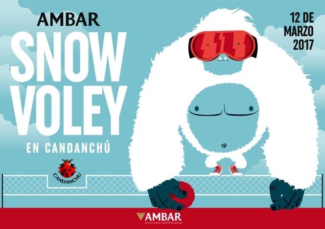 El SnowVoley regresa a Candanchú de la mano deAmbar.