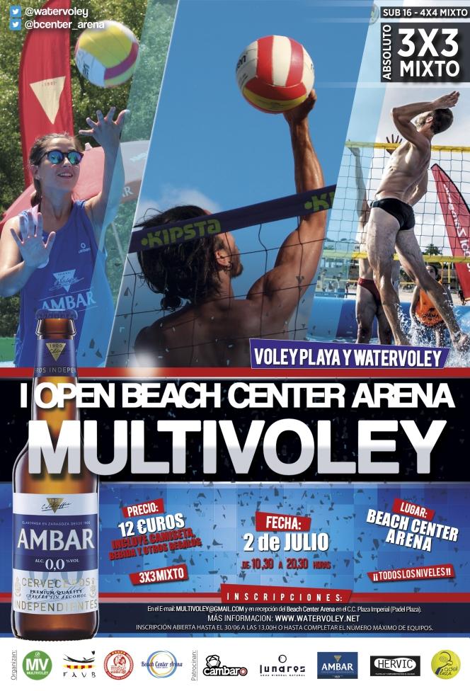 El Beach Center Arena acoge el I MultiVoley del verano2017.