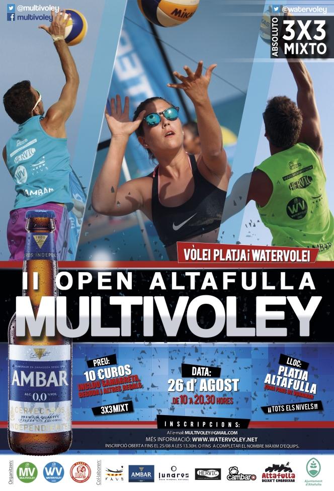 Altafulla tendrá su segundo Open Multivoley el 26 deAgosto.