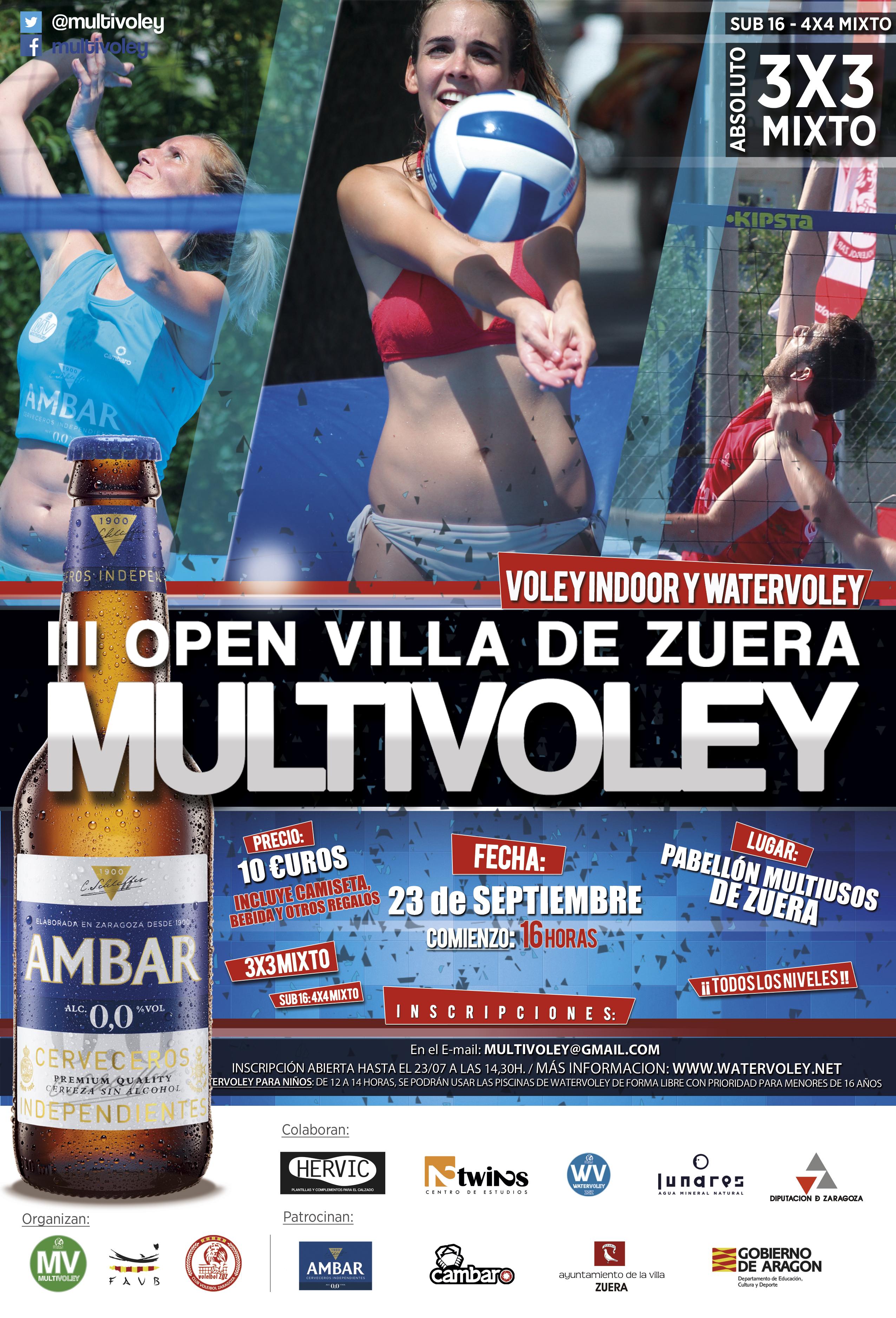 Circuito Zuera : El iii open villa de zuera se disputará el sábado 23 de septiembre