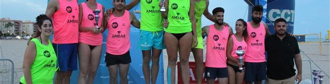 El IV Open de Torredembarra reunió a 28 equipos en la playa LaPaella.