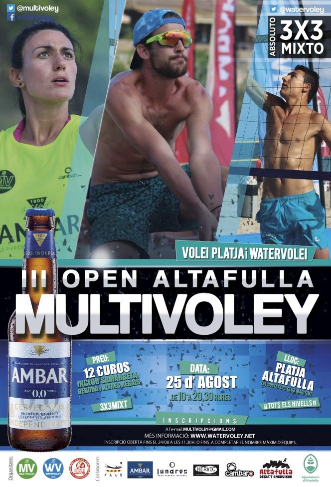 El tercer open de Altafulla se disputará el día 25 deAgosto