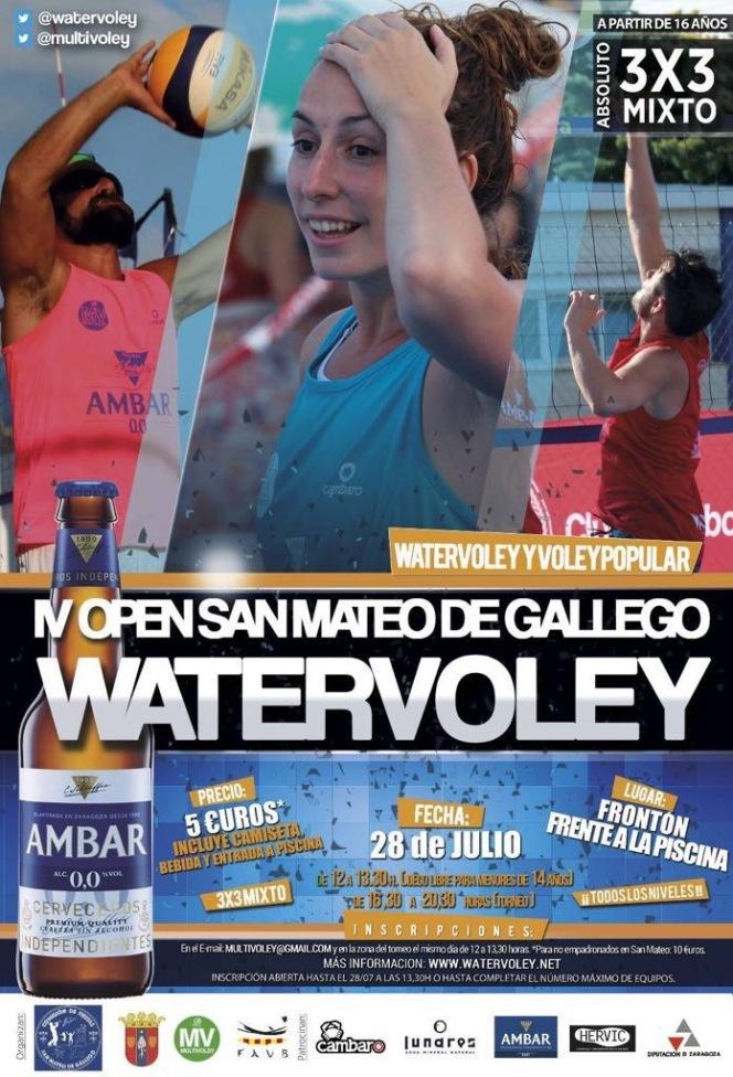 El IV Open Villa de San Mateo de Gállego se disputará el sábado 28 dejulio.
